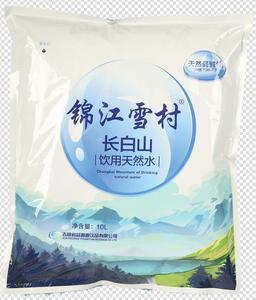 锦江雪村袋装水10kg装