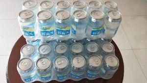 好陶汽天然低氘充气水330ml*12瓶